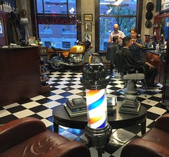 Tuesday afternoon barber shop snapshot.... 💈✂️ #neighbourhoodbarbershop #yaletown #vancouver #barbers #classic #oldschool #traditional #barbering #vancouveroriginal #since2006 (HappyBarbers) Tags: neighbourhoodbarbershop yaletown vancouver barbers classic oldschool traditional barbering vancouveroriginal since2006
