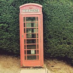 Old phone box (scottwearsglasses) Tags: phone box phonebox englishphonebox red green