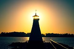 Lighthouse In Vadstena  [Explored] 2018-09-20 (bobban25) Tags: canon eos 80d efs 18135mm f3556 is stm östergötland sverige sweden scandinavia canoneos80d canon80d vadstena lighthouse pir sunset vatten sjö lake water vättern fyr solnedgång sky
