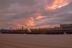 Seaside Heights Sunset (seanbeebe_photo) Tags: beach nj newjersey seasideheights sunset