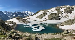 Lac Blanc (delphinusorca) Tags: frenchalpes alpes france2018 france tmb tourdumontblanc iphone