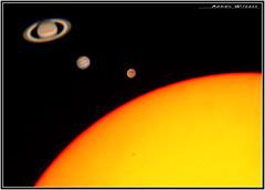 Soleil, Mars, Jupiter et Saturne (Adrien Witczak) Tags: astrophotographie adrienwitczak systèmesolaire planète astronomie astronomy asi120mc