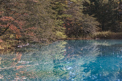DSC_0252 (juor2) Tags: d750 nikon scene travel japan fukushima aizuwakamatsu lake pond maple autumn scenery volcano colorful