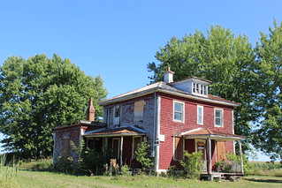 Abandoned home in St-Ours, Qc