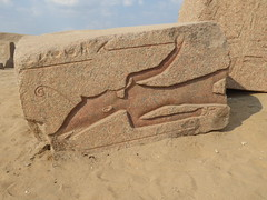 Fallen Block, Tanis (Aidan McRae Thomson) Tags: tanis archaeological site egypt ruins ancient egyptian relief carving