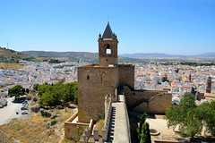 Antequera, de Torre Homenaje van de Alcazaba, Spanje Andalusië 2018 (wally nelemans) Tags: antequera torrehomenaje alcazaba kasteel castle spanje spain españa andalusië andalusia andalucia 2018