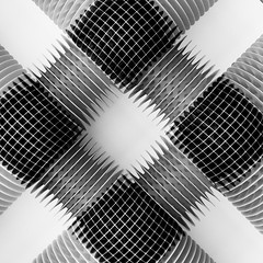 "Photographic study: ""Radiators"" (Justin Barrie Kelly) Tags: justinbarriekelly justinkelly justinbkelly non objective art jbkelly lightanddark constructivist shadow photography abstractart 6x6 blackandwhite abstract asymmetric justinkellyartist geometric lightandshadow sculptural geometrical constructivism blackandwhitephotography photograph geometricshapes photographic angular radiating overlapping incameradoubleexposure doubleexposure arranged radiator diagonal fujixa1 minimalist opticaleffects minimalistphotography bw modernism photographicstructure"