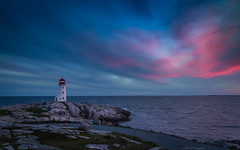 After the Sunset (hey its k) Tags: 2018 canada indianharbour lighthouse novascotia novascotiaandpei2018 peggyscove sunset img5181e canon6d colour pink