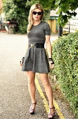 loving this dress too (Miss Nina Jay) Tags: heels dress trannie