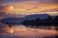 Oban Scotland (Mandyjj543) Tags: landscapes landscape sunsetssunrises sea boat canon clouds sunrise sunset