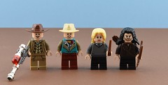 Movies minifigs #1 : BTTF 3, HP and Hobbit🎬 (Alex THELEGOFAN) Tags: lego legography minifigure minifigures minifig minifigurine minifigs minifigurines movie movies kili luna doc brown back to the future lovegood marty mcfly