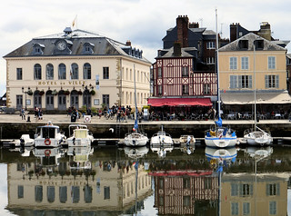 Reflections in Honfleur