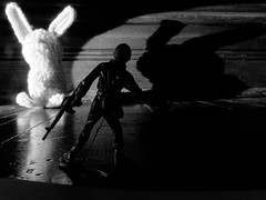 Easter bunny encounter (Thiophene_Guy) Tags: thiopheneguy originalworks olympusxz1 xz1 utata:project=ip266 ironphotographerchallenge