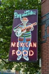 Poquito's Mexican Food (afagen) Tags: seattle washingtonstate capitolhill sign poquitos restaurant neon