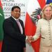 Minister für Landwirtschaft und Fischerei der Malediven bei AM Kneissl