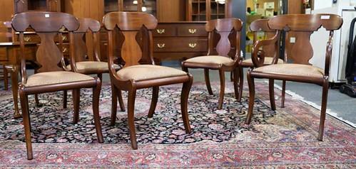 Henkel Harris set of 6 Cherry Vase back chairs ($532.00)