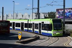 CT 2534 @ West Croydon bus station (ianjpoole) Tags: croydon tramlink bombardier cr4000 2534 working service from wimbledon new addington