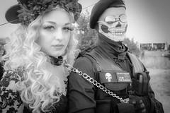 MeraLuna_2018 (112) (uwesacher) Tags: sw bw paar niedersachsen mèraluna wolken sonne flughafen hildesheim 2018 luna mera himmel personen porträt gothic black metal gruppenbild lea muse smile