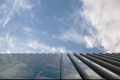 Goldman Sachs HQ, Farringdon Street (James D Evans - Architectural Photographer) Tags: goldmansachshq london goldmansachs banking cladding glazing glass reflections clouds lookinguparchitecture finance farringdon street