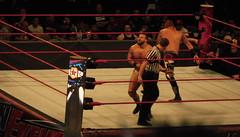 Ring (earthdog) Tags: 2017 nikon coolpix s7000 nikoncoolpixs7000 sanjose sanjosearena sapcenter wwe wrestling prowrestling raw mondaynightraw arena ring