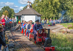 The Wee Train (StevieC - Photography) Tags: theweetrain strathaven glasgowherald published heraldscotland scotland steviec
