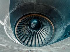Round (Barry Jansen Travel Photographer) Tags: boeing 747 engine plane aviodrome olympus 714