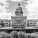 Texas State Capitol B&W #jcutrer