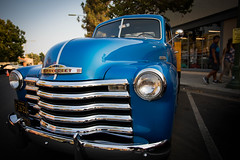 1953 Chevrolet Pickup (Photos By Clark) Tags: subjects california vehicles canon5div unitedstates location northamerica canon1740 locale places where escondido us truck 1953 blue restored chevrolet lightroom thesandiegoist carshow ondisplay chrome