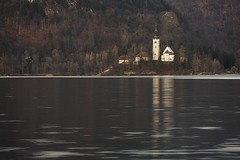 0831 Church On The Lake VII (Hrvoje Simich - gaZZda) Tags: lake pond outdoors noperson building trees church bled slovenia europe nikon nikond750 nikkor283003556 gazzda hrvojesimich