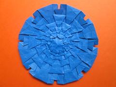 Ben Goldberger's Recursive Model 3 (georigami) Tags: origami papiroflexia papel paper