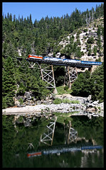 WP 2001 (golden_state_rails) Tags: wp western pacific emd gp20 amtk amtrak rock creek ca california feather river route canyon subdivision wp2001