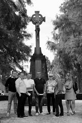 ontmoetingsplaats (regionaal landschap Schelde-Durme) Tags: waasmunster begraafplaats openmonumentendag