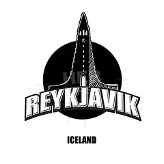 Reykjavik, church, black and white logo (Hebstreits) Tags: architecture attraction background beautiful building capital card cathedral center christianity church city concrete destination downtown drawing exterior facade famous greeting hallgrímskirkja hallgrimur hand high historic iceland icelandic icon journey landmark landscape lutheran modern northern outline poster religion reykjavik scandinavia symbol tour tourism tourist tower town travel trip vector white
