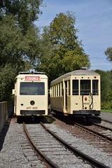 NMVB/SNCV ART 300+9405 ASVi Biesmes-sous-Thuin (eddespan (Edwin)) Tags: asvi tram streetcar strasenbahn trammuseum tramwaymuseum thuin henegouwen hainaut belgië belgium belgique belgien wallonië
