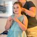 Doing Olivia's Hair