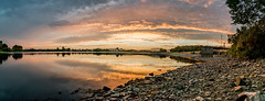 Hollingworth lake. (alexaSB) Tags: rochdale hollingworthlake nikon sunset unitedkingdom water resevoir pano clouds calm d3300 panoramic uk reflection british manchester panorama landscape littleborough england northwest nikond3300