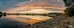Hollingworth lake. (alexaSB) Tags: rochdale hollingworthlake nikon sunset unitedkingdom water resevoir pano clouds calm d3300 panoramic uk reflection british manchester panorama landscape littleborough england northwest nikond3300