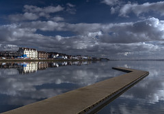 Walk This Way (markrd5) Tags: wirral westkirby westkirbymarinelake sailing riverdee clouds reflections