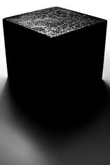Abstract i (Niaic) Tags: abstract blackandwhite monochrome contrast granite stone monolith monolithic rock fog foggy cloudy mist misty cube square pillar column stylised minimal texture minimalist presence strong strength simple block mass basalt longexposure movement blur still life loxia