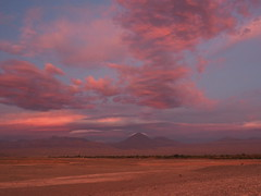 """Voices in the Sky (Say """"Wasabi"""") Tags: atacama chile desert latinamerica sunset olympus m43 mzuiko 1240 em5ii landscape scenery mountains southamerica sky skies red pink clouds travel cloudy"""