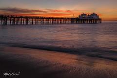 Malibu Pier_MG_0692 (Alfred J. Lockwood Photography) Tags: alfredjlockwood nature seascape sunrise twilight dawn pacificcoast pacificocean malibupier water reflection clouds malibu southerncalifornia winter morning beach