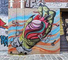 Jack Douglas Windsor 2018-09-09 (5D_32A3809) (ajhaysom) Tags: jackdouglas jd windsor artistslane aerosolalley streetart graffiti canoneos5dmkiii canon1635 melbourne australia