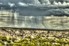 rain in Socorro County (JoelDeluxe) Tags: rain solitudecanyon trail bosquedelapachenwr nationalwildliferefuge nm newmexico socorro landscape panorama hdr cloudy skies hiking september 2018 joeldeluxe