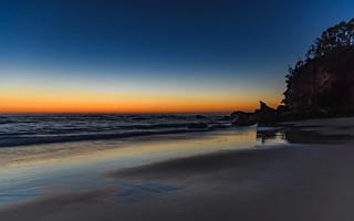 Clear Skies Dawn at the Beach