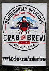 Crab And Brew (Anthony Mark Images) Tags: seafood crabs seafoodchowder salmon halibut alaskancod dungenesscrab kingcrab crabandbrew restaurant halibutpoint sitka alaska usa 49thstate crabnets ad nikon d850
