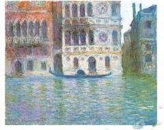Postcrossing US-5563620 (booboo_babies) Tags: venice italy monet claudemonet art painting 1908 postcrossing impressionist