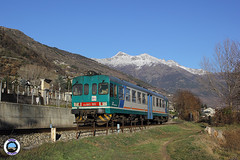 ALn 663-1011 (Treni In Foto) Tags: aln 663 treno regionale livrea xmpr linea ferroviaria aosta prè saint didier sarre