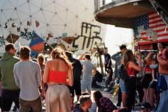 SUMMER OF LOVE (marlinhelene2) Tags: 35mm film filmphotography grain analog party festival techno slowtechno teufelsberg berlin somethingslow youth documentary