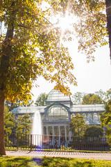 Palacio de Cristal (iciargarciaovies) Tags: sunflare retiro madrid