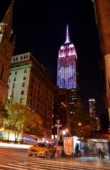 Empire State Building, 11.08.16 (gigi_nyc) Tags: election election2016 nyc newyorkcity night nightshots nightphotography